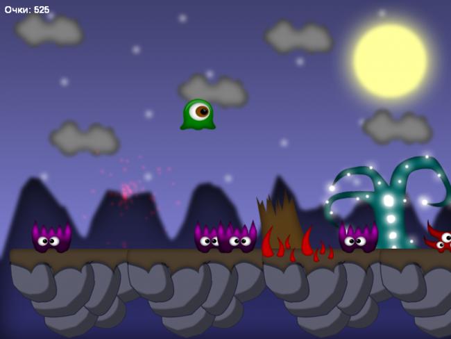 Скриншот из игры Slizz