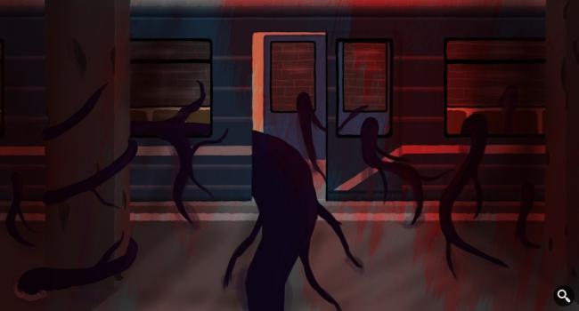 Рисунок на конкурс художников-энтузиастов #2 (GcUp.ru)