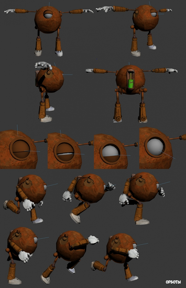 Разработка персонажей в 3D