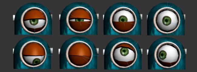 Разработка персонажа в 3D: мимика
