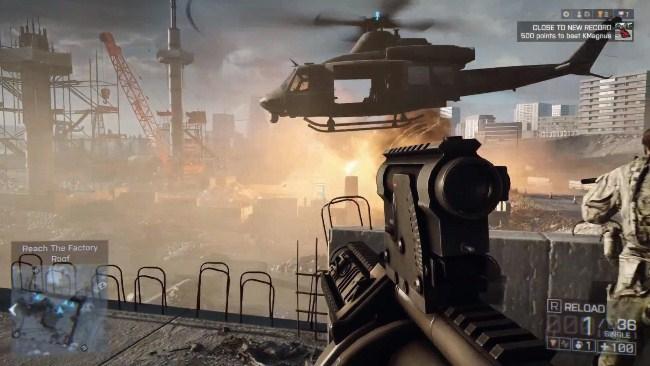 Одиночная кампания Battlefield 4