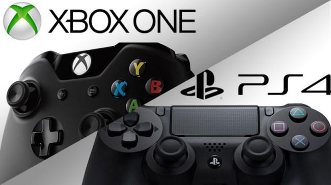 Контроллеры PS4 и Xbox One