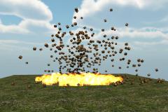 Создание простейшего взрыва