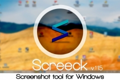 Screeck - screenshot tool for Windows