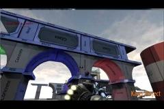 Система прицеливания для метательного оружия с траекторией полета (UDK)